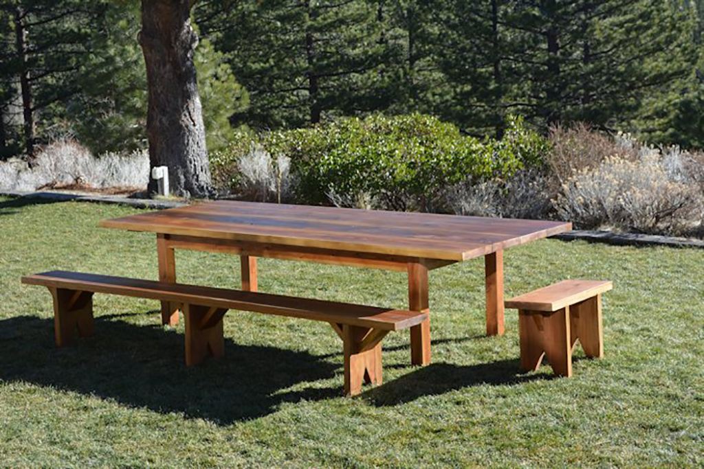 Fine Redwood Harvest Table Alphanode Cool Chair Designs And Ideas Alphanodeonline